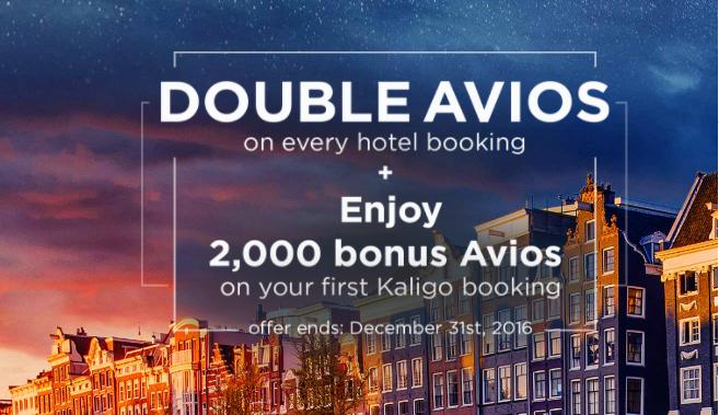 住一晚酒店即換到來回台灣機票!高達$10/40 Avios + 首次預訂2,000 Avios!訂$863酒店已經可以有9,000Avios啦 - Kaligo