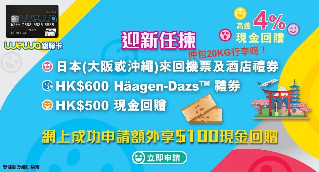 Wewa 銀聯信用卡