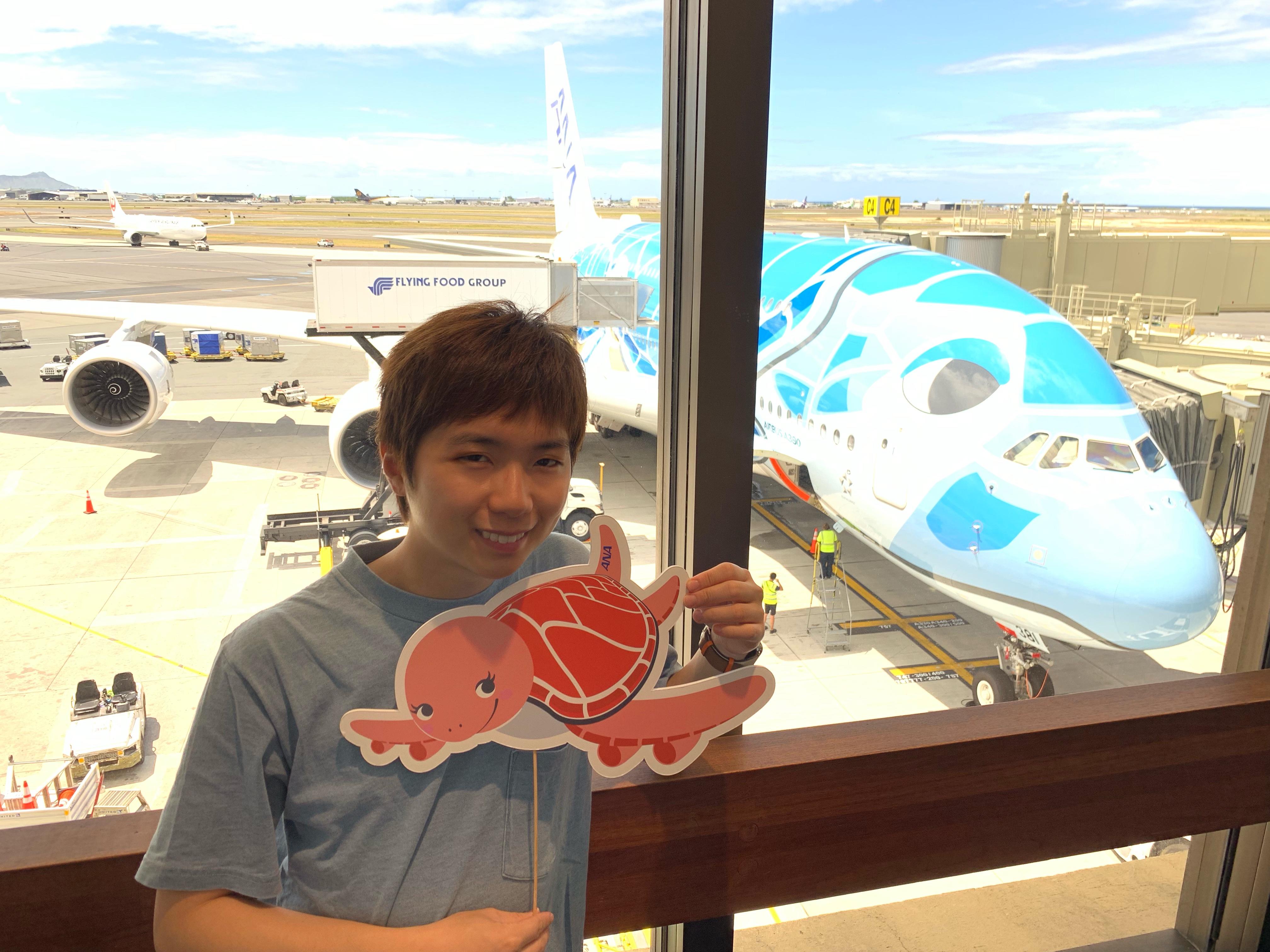 A380首航!全日空夏威夷機場全新貴賓室 - ANA Lounge + ANA Suite Lounge