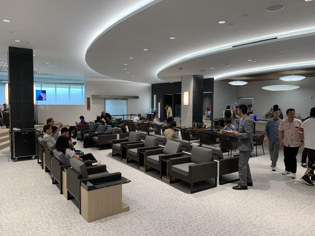 全日空ANA lounge 夏威夷機場貴賓室