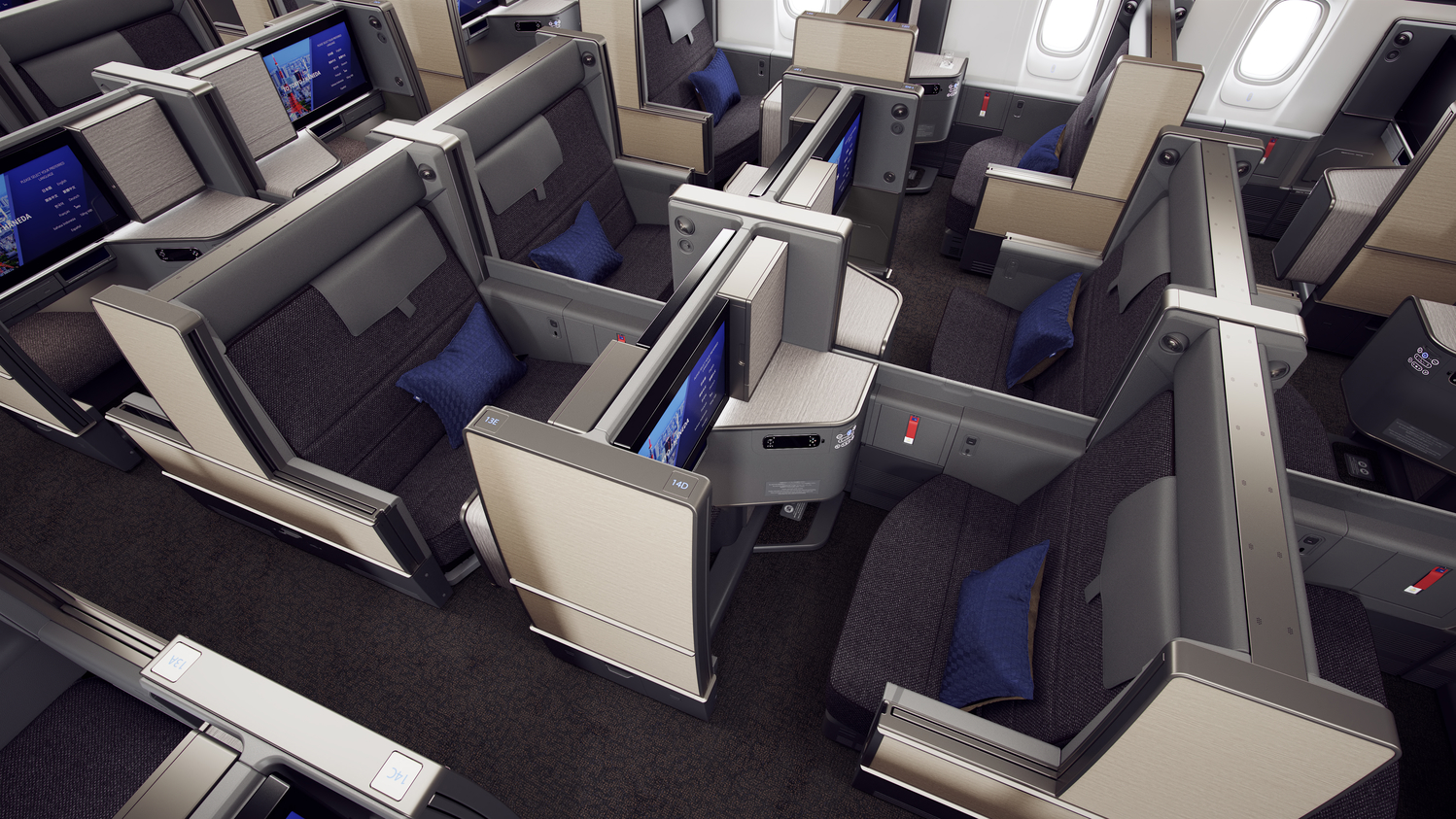 ANA新777-300 First Class / Business Suite Class 即刻睇!有啲似Qatar個Q Suite啊!