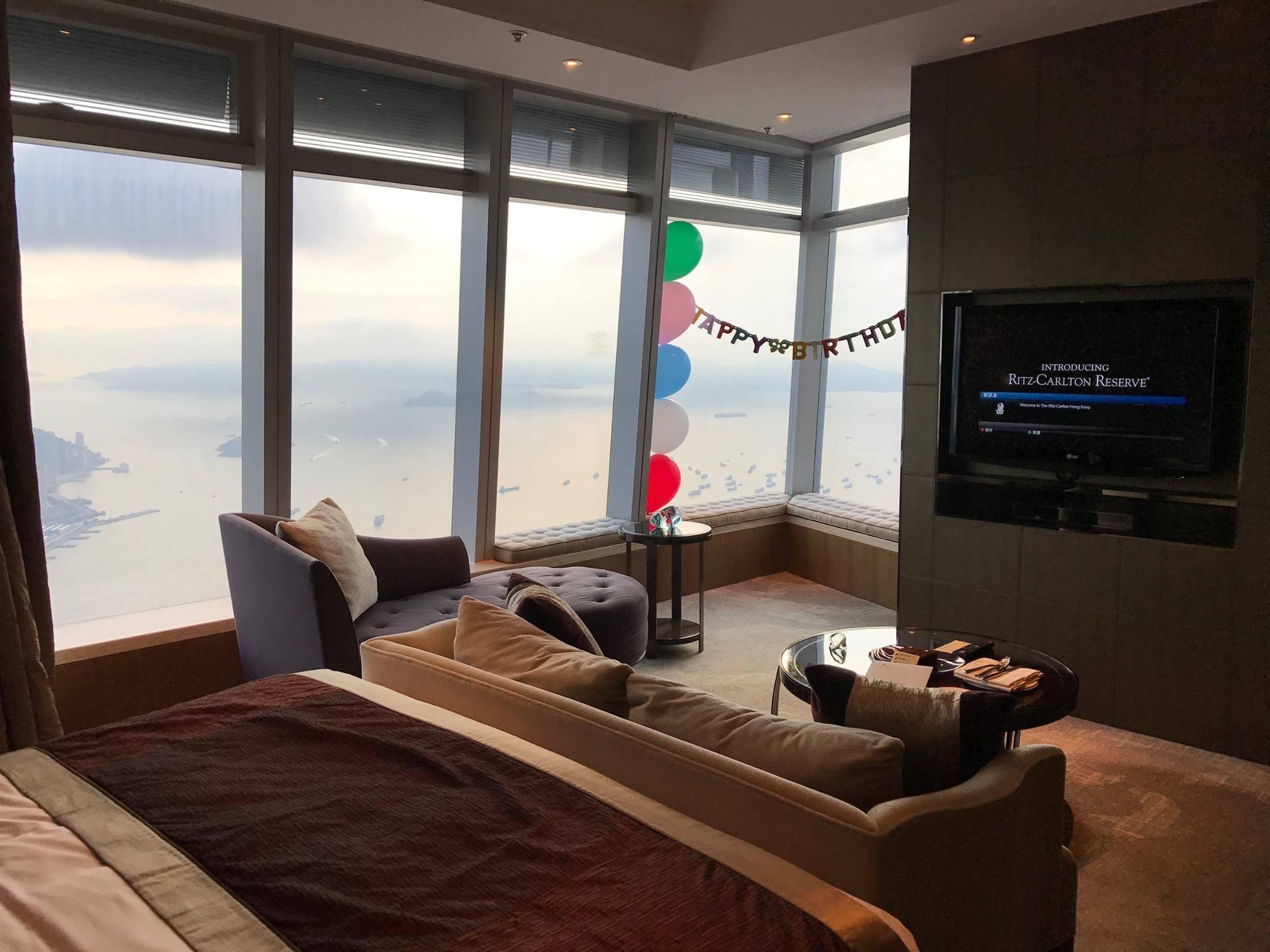 The Ritz Carlton Hong Kong 香港麗思卡爾頓酒店 入住報告
