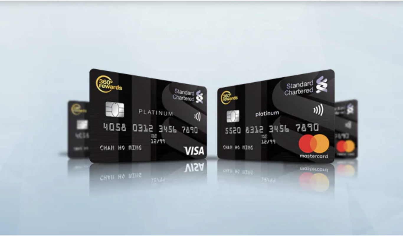 渣打白金信用卡(Visa / Mastercard)!迎新簽$8,000有$600現金回贈!